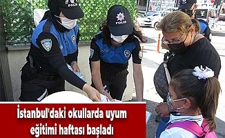 İstanbul'daki okullarda uyum eğitimi haftası başladı