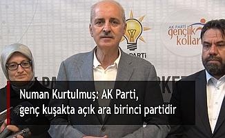 Numan Kurtulmuş: AK Parti, genç kuşakta açık ara birinci partidir