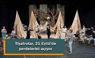 Tiyatrolar, 21 Eylül'de perdelerini açıyor