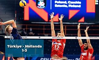 Türkiye - Hollanda: 1-3