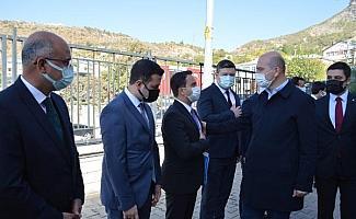 Bakan Soylu: Tunceli'nin dağlarında 21 terörist kaldı, 4'ünün yürüyecek hali yok