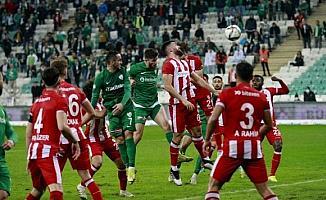 Bursaspor - Beypiliç Boluspor (EK FOTOĞRAFLAR)