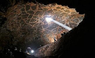Diyarbakır'da sönmüş volkanik Karacadağ'ın eteklerinde 'Lav Yolu' bisiklet turu ve doğa yürüyüşü düzenlendi