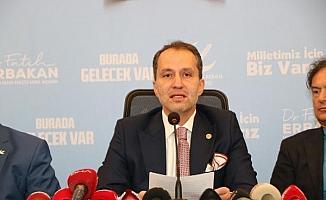 Fatih Erbakan: Yeni nesillerimize yapılan saldırıları reddediyoruz