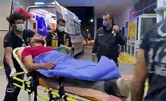 Kuryeyi bacağından vurdu, 'tetikçi' iddiasında bulundu