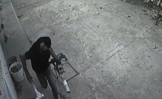KYK binasından hırsızlık güvenlik kamerasında
