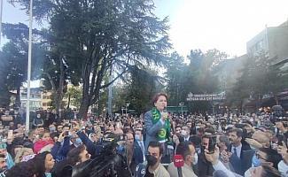 Meral Akşener: Milletin önünde ben dahil herkes hazır ola geçecek