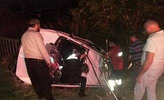 Osmaniye'de otomobil devrildi: 1 ölü, 2'si ağır 5 yaralı