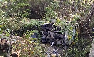 Otobüs kazasında ölen 2 kadın son yolculuklarına uğurlandı