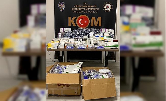Şırnak'ta kaçakçılık ve asayiş operasyonları: 62 gözaltı