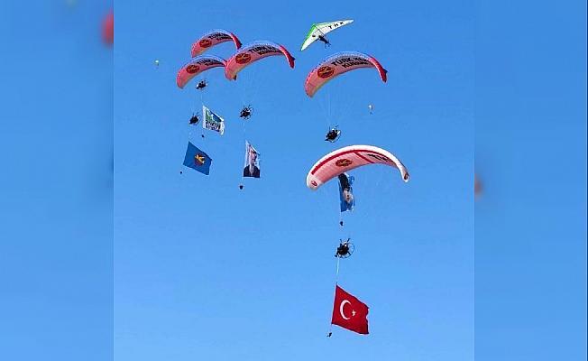 Uluslararası Ölüdeniz Hava Oyunları Festivali başladı