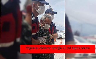 Yeğenini öldüren sanığa 25 yıl hapis cezası