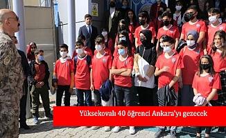 Yüksekovalı 40 öğrenci Ankara'yı gezecek