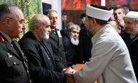 Diyanet İşleri Başkanı Afrin şehidinin ailesine taziye ziyaretinde bulundu