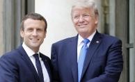 Trump ve Macron'dan Türkiye hakkında kritik görüşme