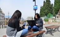 Yıldırım'da Belediyesi'nden internet hizmeti
