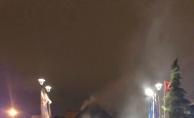Zafer Plaza'da korkunç yangın