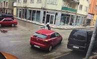 Bursa'da kaza görüntüleri saniye saniye kaydedildi