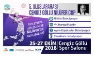5. Uluslararası Cengiz Göllü Nilüfer Cup başlıyor