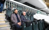 Bursaspor'un en konforlu tribünü tanıtıldı