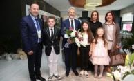Nilüfer'de çocuk başkanın ilk talimatı futbol sahası oldu