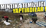 Bursa İnegöl'de zabıtadan dilencilere mıntıka temizliği