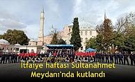 İtfaiye haftası Sultanahmet Meydanı'nda kutlandı