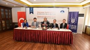 Tarihin tanığı olan şehirler Bursa'da buluşuyor