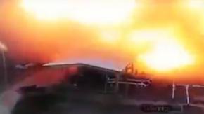 Saudi Aramco Saldırının yeni görüntüleri