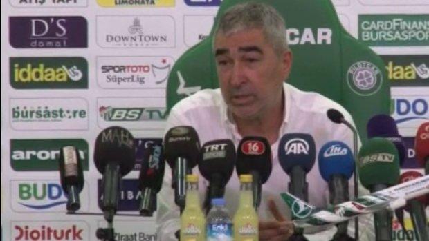 Samet Aybaba'dan Bursaspor Kayserispor maç sonu yorumları